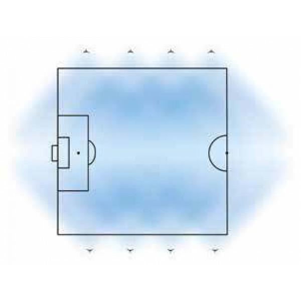 Sport Star Antal lampor belyst plan