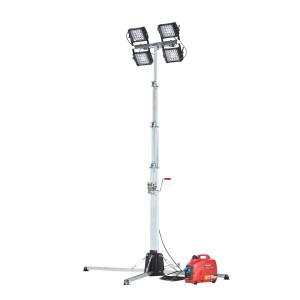 Belysningsmast MR med trefot