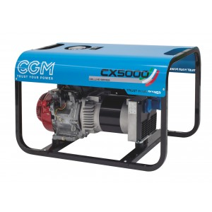 CX5000 elverk bensin front