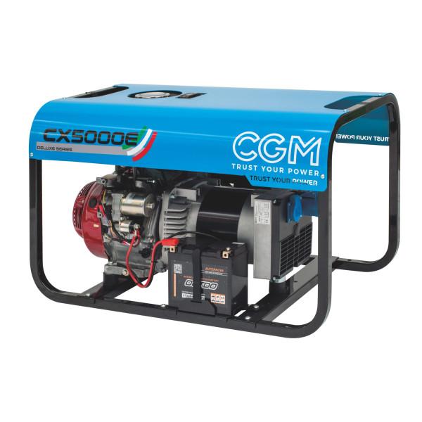 CX5000E elverk bensin front