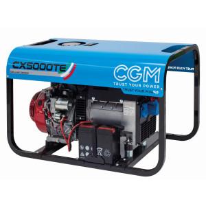 CX5000TE elverk bensin front
