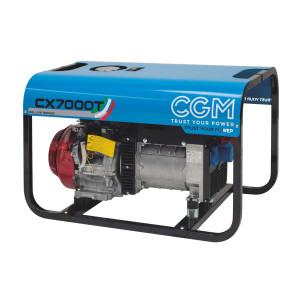 CX7000 elverk bensin front