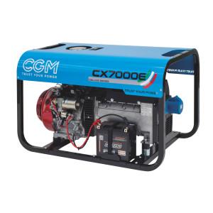 CX7000E elverk bensin front