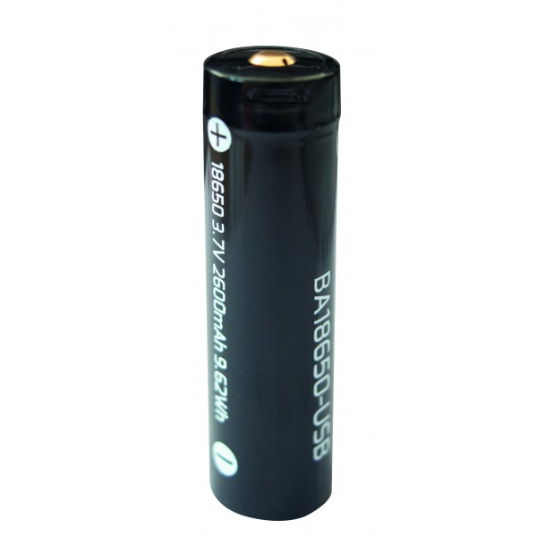 Batter 18650 USB