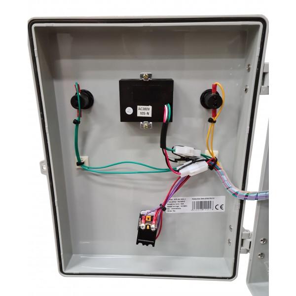 ATS Panel insida lock
